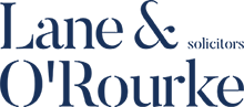 Lane and O'Rourke Solicitors Logo